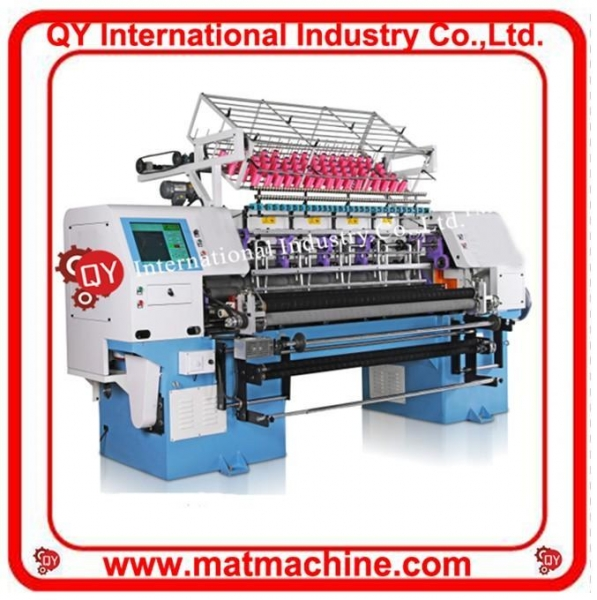 Cheap High Speed Computerized Shuttle Multi-needle Quilting Machine for sale