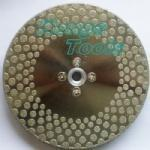 China Saw Blade: EPV Diamond Cutting And Grinding Disc With Flange on sale