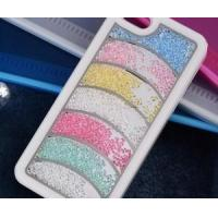 China Curved Strip Colorful Bling Crystal Swatch way Case/ Cover for iPhone 5 on Wholesale on sale