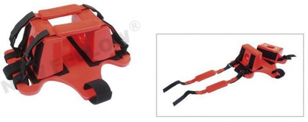 China Head immobilizer for together with scoop stretcher or spine board NF-H2