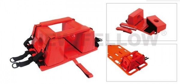 China Head Block used together with scoop stretcher or spine board NF-H1