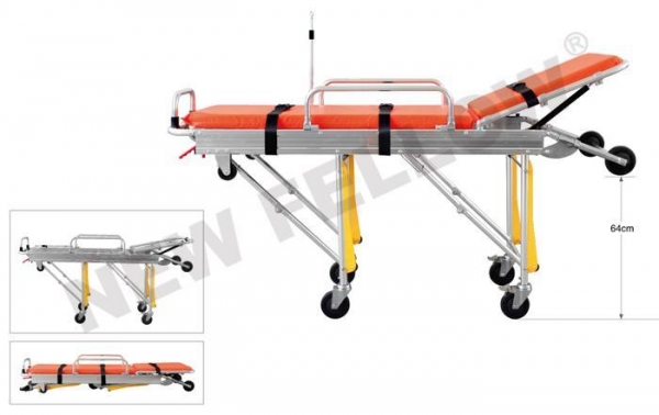 China Automatic Loading Ambulance Stretcher Trolley, Patient Transport Stretcher NF-A2-1