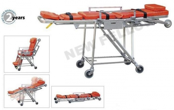 China Ambulance Trolley Stretchers Multifunction Patient Trolley For Sport Rescue NF-A6