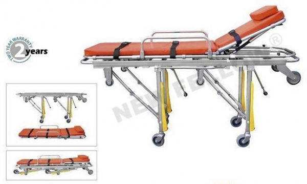 China Foldable Ambulance Trolley Stretchers For Wounded Tactical Rescue NF-A5