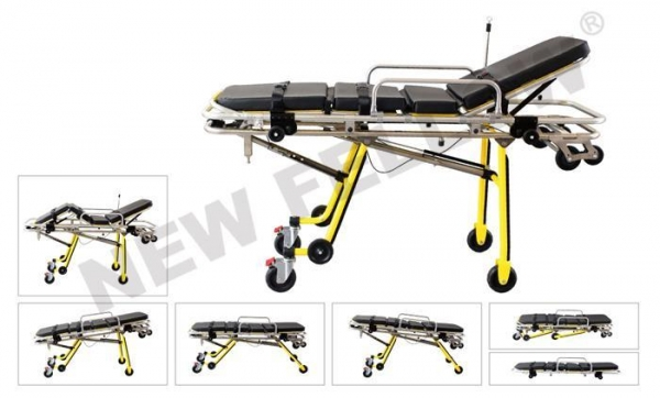 China Ambulance Patient Stretcher Trolley, Medical Stretcher For Hospital NF-A9