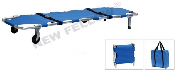 Cheap Aluminum Alloy Lightweight Army Stretcher Lightweight Foldable First Aid Stretcher NF-F5 for sale