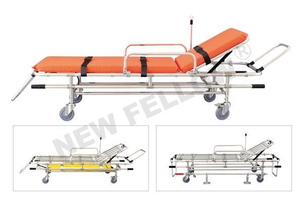 Cheap Ambulance Stretcher Trolley Automatic Loading Stretcher With Lock NF-L1 for sale