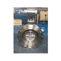 Best D343H worm wheel flange type hard sealing butterfly valve wholesale