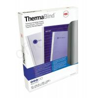 China GBC Thermal Binding Cover 3mm White Ref 45440 [Pack 25] on sale