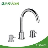Buy cheap Upc widespread lavatory faucet from wholesalers