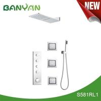 China Yazi bathroom accessories Thermostatic mixing shower S581RL1 on sale