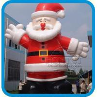 Best 30ft Tall Giant Airblown Christmas Inflatable Balloon Santa Claus Yard Decoration ,best supplier wholesale