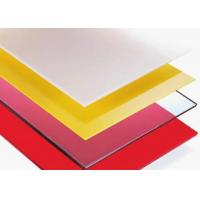 Cheap Frosted Polycarbonate Sheets for sale