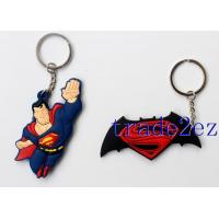 Buy cheap 2016629152648Superman Logo Double sided PVC Keychains from wholesalers