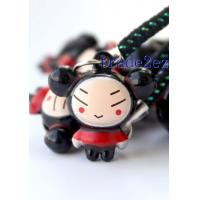 Best 2016622145116Cartoon Pucca Bell Charm Strap 3-Style wholesale