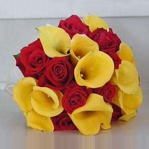 Cheap 24 Roses And Calla Lilies NO.89 delivery flower to taiwan for sale