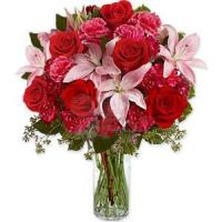 Best Carnations Lilies and Roses NO.88 delivery flower to taiwan wholesale