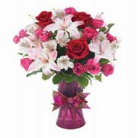 Buy cheap Rose and Lily Romance NO.42 delivery flower to taiwan from wholesalers