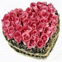 Buy cheap Cupid Heart Of Roses NO.47 delivery flower to taiwan from wholesalers