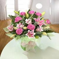 Buy cheap Rose and Lily NO.93 delivery flower to taiwan from wholesalers