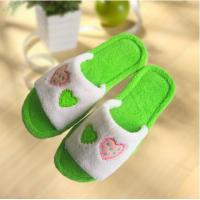 Best Hot sale decoration tpr sole antislip woman fluffy slipper wholesale