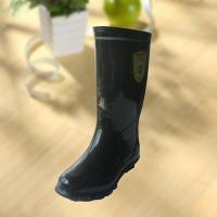Best High quality black rubber safety working knee boot wholesale