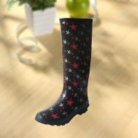 Best Fashion Star Pattern Rubber Knee Boot For Woman wholesale