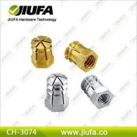 Buy cheap zinc alloy furniture nuts from wholesalers