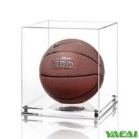 Best Acrylic display case for basketball Model:YY3807 wholesale
