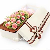 Best 11 Pink Rose Gift Box wholesale