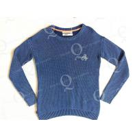 China FLAT KNIT Ladies' knitted pullover sweater on sale