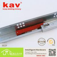 China 662F two folds push-open accuride soft close drawer slides on sale