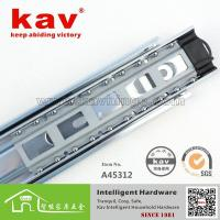 Buy cheap A45312 45width 3 folds ball bearing drawer slide from wholesalers