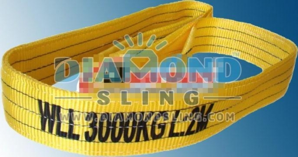 China WLL 3 Ton, 3000 Kg Webbing Slings