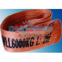 Cheap WLL 6Ton, 6000Kg Webbing Slings for sale