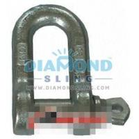 Buy cheap Drop Forged Dee Shackle Italy Type from wholesalers