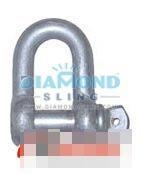 China Chain Shackle US Commercial Type Screw Pin