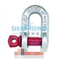 Buy cheap G210 Chain Shackles Screw Pin High Tensile Forged Alloy from wholesalers