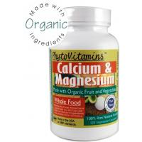 China PhytoVitamins Whole Food Calcium & Magnesium 120 Veg Caps (Made with Organic) on sale