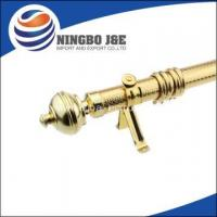 Best 35mm Golden Cheap Iron Curtain poles wholesale