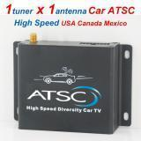 China DVB-T2 Car ATSC Digital TV receiver for USA Canada Mexico HD TV tuner freeview on sale