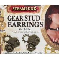 Buy cheap SteamPunk Gear Stud Earrings from wholesalers