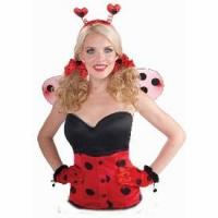 Buy cheap Headband & Bow Set Lady Bug Accessories from wholesalers