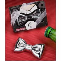 China Favor Bottle Opener Bow Tie on sale