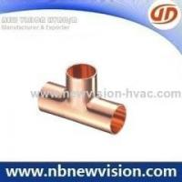 China Copper Fitting Copper Reducing Tee Fitting on sale