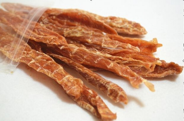 China Half chicken breast cut into strips pet food for dogs natural food