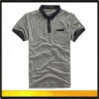 China Polo shirts men cotton polo shirt, collar t shirt on sale