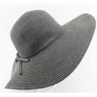 Best Straw Floppy Hat With Ribbon wholesale