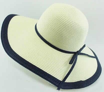 Cheap Floppy Straw Hat With Wide Brim for sale