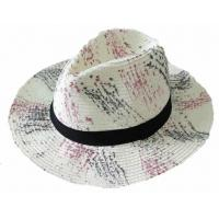 Cheap Floral Printed Summer Hat, Available for Adults for sale